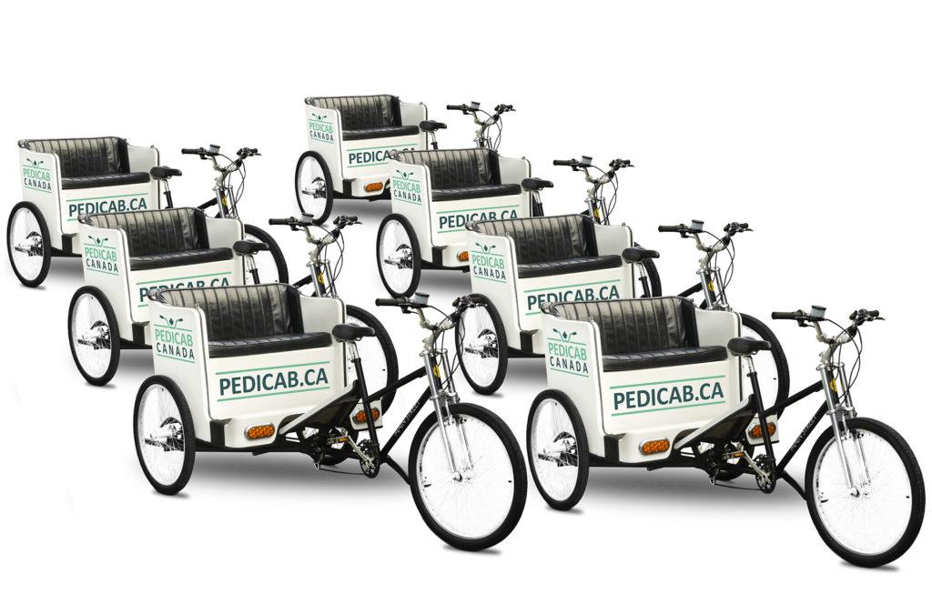 Pedicab Canada - Toronto Fleet